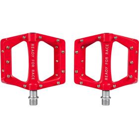 Cube RFR Flat Race Polkimet , punainen